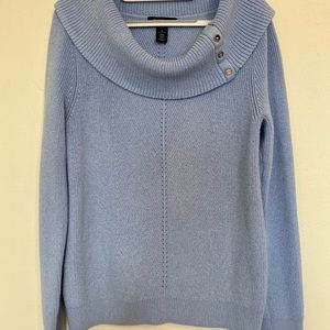 White House Black Market Sweaters - WHITE HOUSE BLACK MARKET Cowl Neck Pullover, M